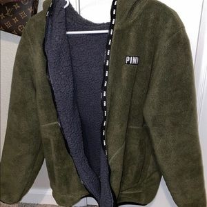 PINK! Sherpa NEVER WORN! With tags